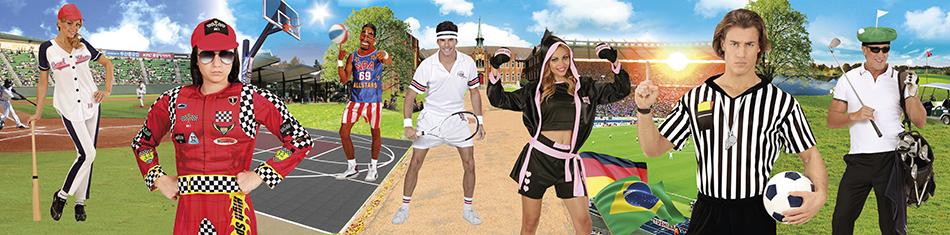 Sport Kostueme Sportler Verkleidungen Sportsleute Sportler