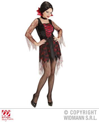 Kostüm Spiderweb Vampiria Damen Verkleidung Fasching
