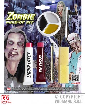 Zombie Make up Kit - Halloween