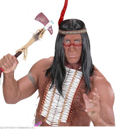 Indianer Make-up rot - Schminke Rothaut Wild West