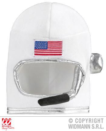 Astronautenhelm - Raumfahrer Helm - Weltraum USA - Space Kindergröße
