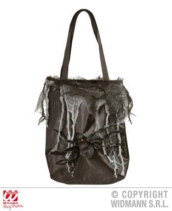 Hexenhandtasche mit Spinne - Halloween Damen Tasche
