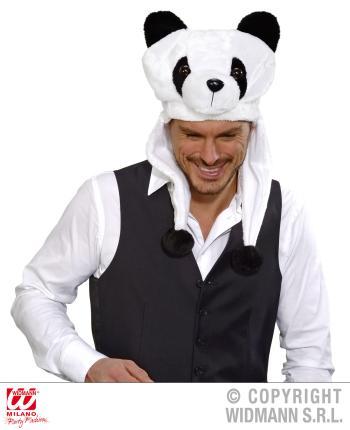 Panda Mütze - Panda Verkleidung  - Pandamütze - Warmer Kopfbedeckung