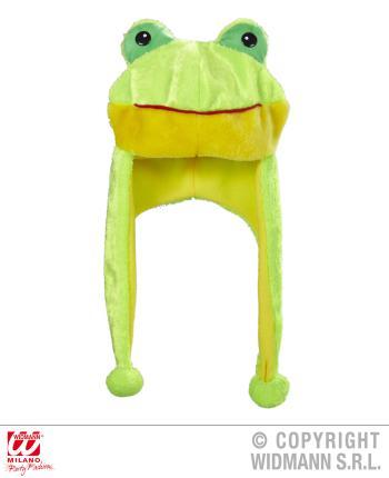 Frosch Mütze - Frosch Verkleidung - Tiermütze