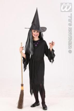 Kostüm Hexe schwarz 128 cm Preishit