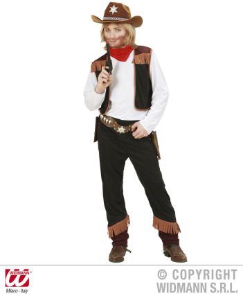 Kostüm Cowboy Gr.128 cm Preishit - Kindercowboy