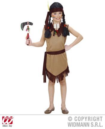 Kostüm Indianerin Gr.140 cm Preishit  Squaw Western Mädchen