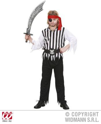 Kostüm Pirat Gr.140 cm Preishit   - Kinderkostüm Piraten