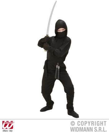 Kostüm Ninja Gr.140 cm Preishit - Ninja Verkleidung  - Kämpfer Kostüme Kinder