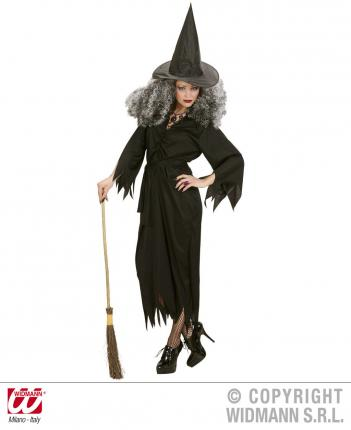 Kostüm Hexe schwarz - Preishit - Hexenkostüm  Hexen Verkleidung M - 38/40
