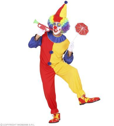 Kostüm Clown Preishit - Männerkostüm  S- L Zirkus Verkleidung Clownkostüm