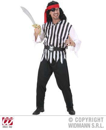 Kostüm Pirat Gr. L Preishit - - Piratenkostüm  Seeräuber Männer  L