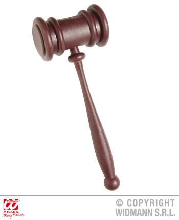 Hammer für den Richter - Richterhammer Farbe