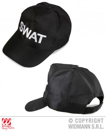 SWAT Cap für SWAT Kostüm S.W.A.T. Mütze