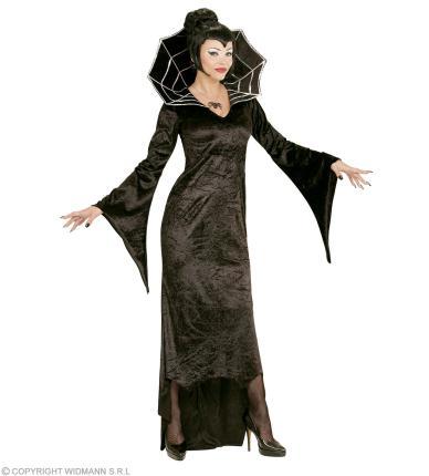 Kostüm Spiderella Vampirfrau Kleid Halloween Spinne