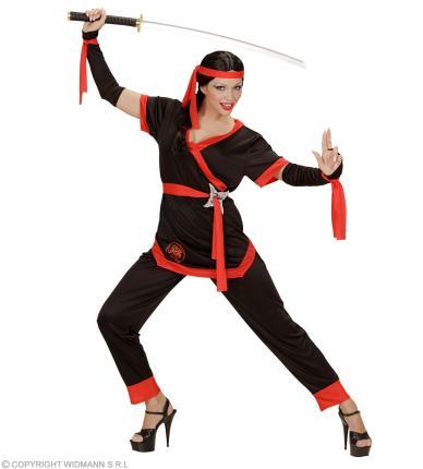 Ninja Kostüm Frau Sumurai - Ninjakämpferin Girl Power
