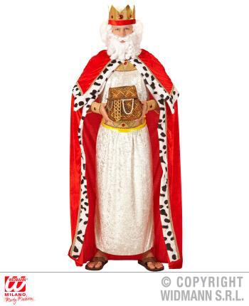 Königsumhang mit Krone - Gr. M/L - Biblischer König