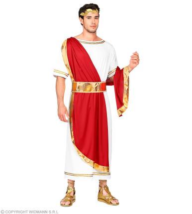 Kostüm Römischer Kaiser -  Senator Römerkostüm Römer Verkleidung M - 50/52
