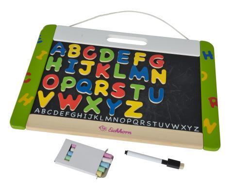 EH Eichhorn Hänge-Magnettafel - magnetische Tafel mit Buchstaben 33 tlg.