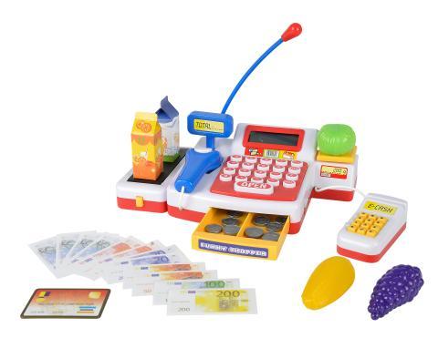 Simba Supermarktkasse mit Scanner für Kaufmannsladen Kinder Spielzeug