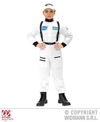 Astronauten Kostüm Astronaut Größe 140 - Kosmonaut Raumfahrer Sputnik Anzug