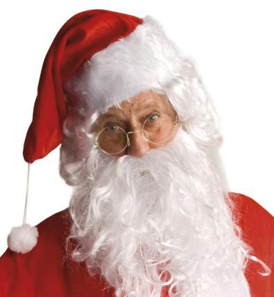 Weihnachtsmann Brille - Nikolaus - Party Brille
