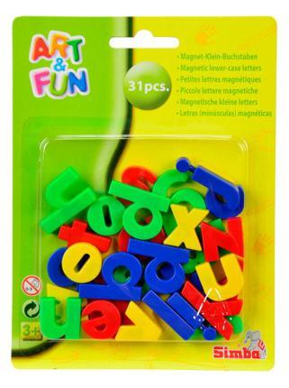 Art & Fun Magnet - Kleinbuchstaben - magnetische Buchstaben - Magnetbuchstaben