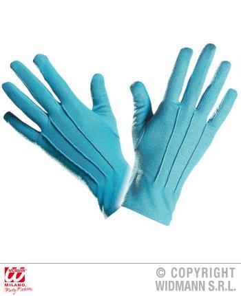 Türkise  Handschuhe - Paar Handschuhe in türkis