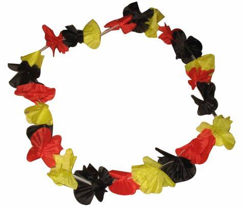 Hawaii Kette - Deutschlandfarben