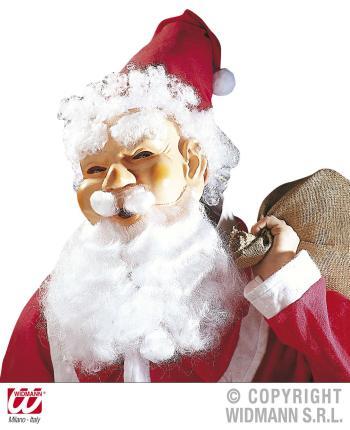 Lachende Weihnachts-Maske Weihnachtsmannmaske Santa Claus