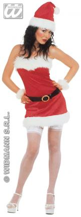 Weihnachtsfrau Kostüm Sexy M  - Weihnachtskostüm Dame Gr. M