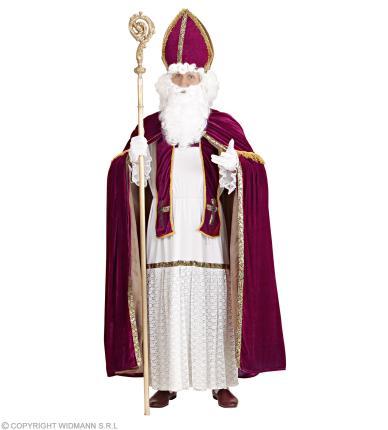 Nikolaus Kostüm - Bischof Nikolauskostüm Gr  2XL/3XL -  Weihnachtsmann
