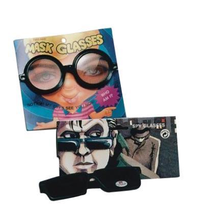 Spionbrille mit Rückspiegel  - Spionage Brille