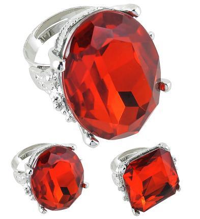 Rote Ringe deluxe - Luxusring