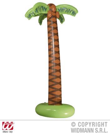 Aufblasbare Palme 180 cm groß - Palmen Strandpalme Beach Hawaii Sommer Karibik