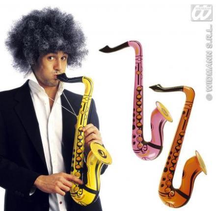 Aufblasbares Saxophon 55 cm  - Musik Instrument zum Auflbasen