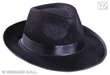 Gangster Hut - schwarz