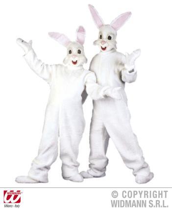 Plüsch Bunny Kostüm Hasenkostüm Hase  - Universalgröße