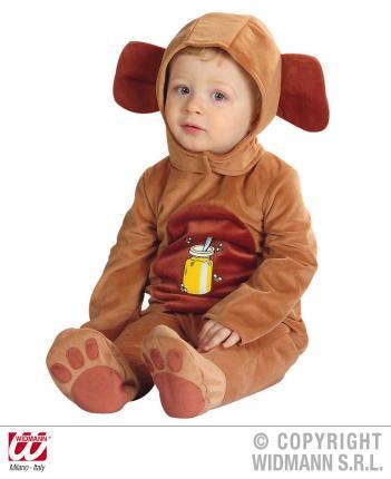 Kinderkostüm Bärchen Bärenkostüm Bären Baby 90 cm