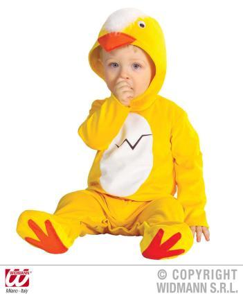 Baby Küken Kostüm Hühnchen - 1-2 Jahre 90 cm