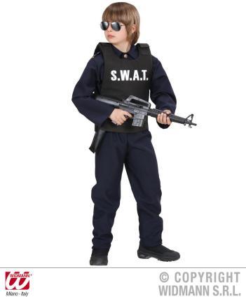 S. W. A. T. Weste Kinderweste - SWAT Spezial Komando Polizei flexibel