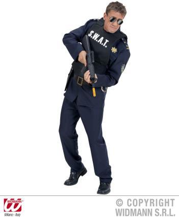 S. W. A. T. Weste - Männerweste - SWAT - Männerweste Undercover Polizei SEK Agent