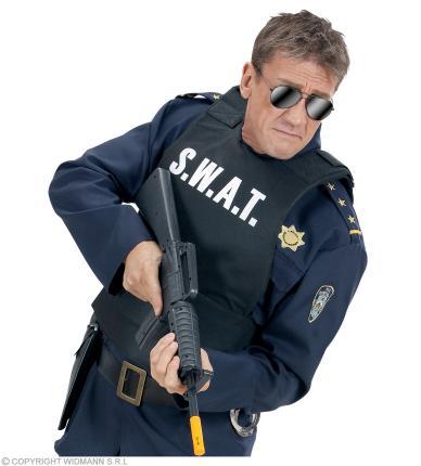 S. W. A. T. Weste - Männerweste - SWAT - Undercover Polizei SEK Agent Erwachsene