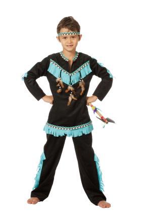Wilbers Indianer Wishbone Jungen Kostüm Gr. 128