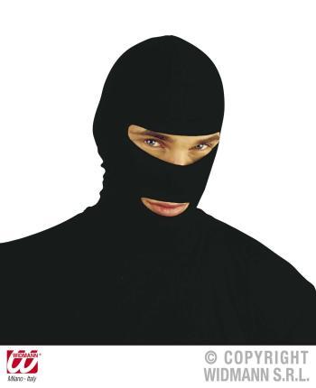 Ninja Kopfbedeckung - schwarze Masken