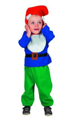 Wilbers Zwerg Kostüm Märchen Baby Zwerge Gr. 98 cm - Babykostüm