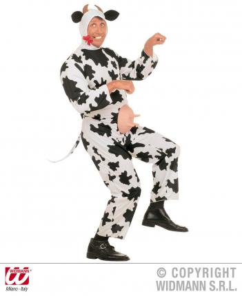 Kostüm Gaia die Kuh - Kuhverkleidung mit Eutern Kuhkostüm Gr. L