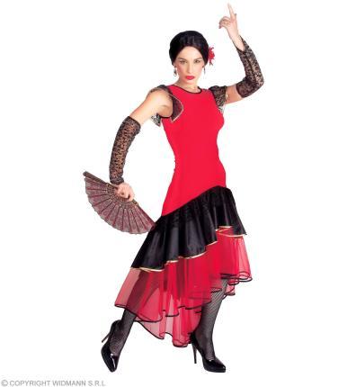 Kostüm Lola - Senorita Flamenco Spanierin Tänzerin Tanzkleid