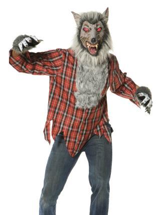 Verkleidung Werwolf - Zombie - Halloween Gr. L - Werwolfkostüm Gr. L