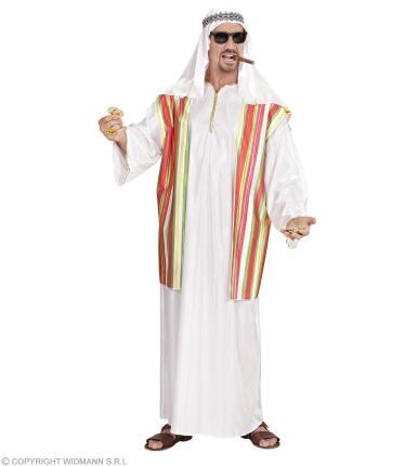 Kostüm Scheich Größe XL - Ölscheich Scheichkostüm Emirat Ölscheich XL